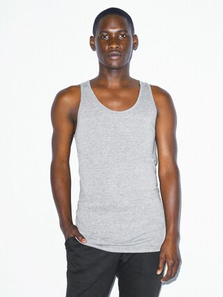 Tri-Blend Tank (Athletic Grey)