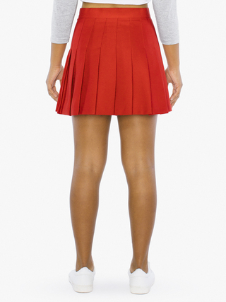 Kids' Gabardine Tennis Skirt (American Beauty)