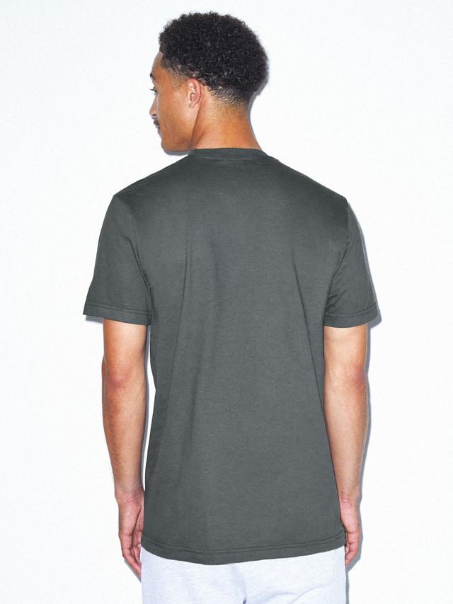 Fine Jersey Crewneck T-Shirt (Asphalt)