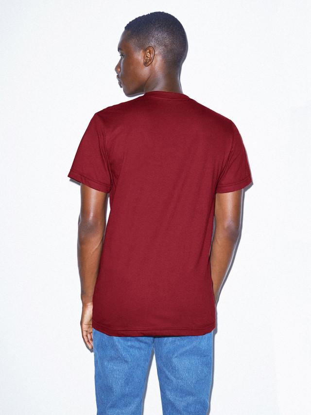 Fine Jersey Crewneck T-Shirt (Cranberry)