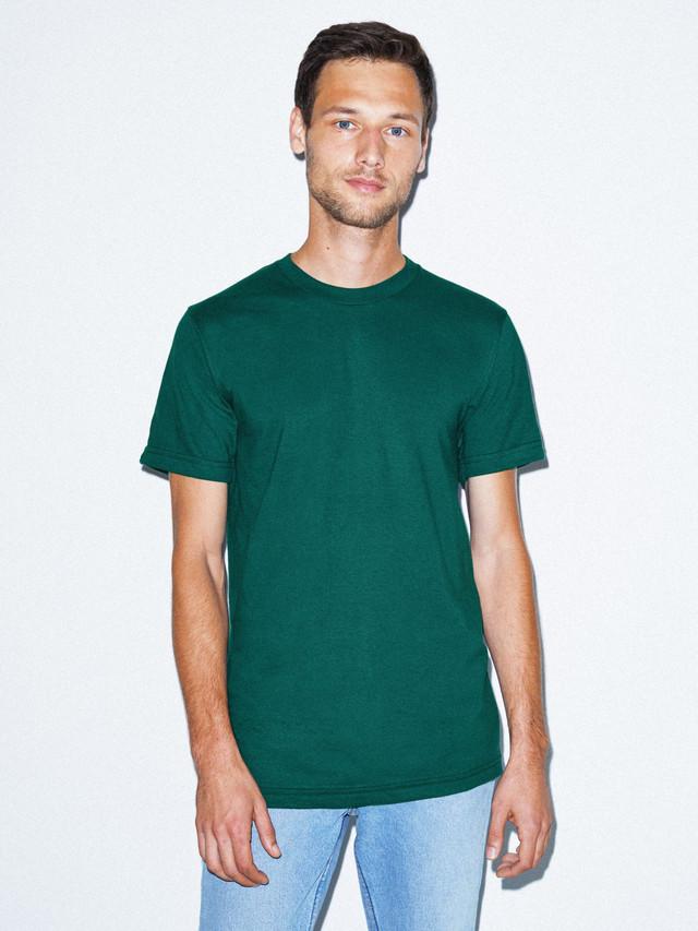 Fine Jersey Crewneck T-Shirt (Forest)