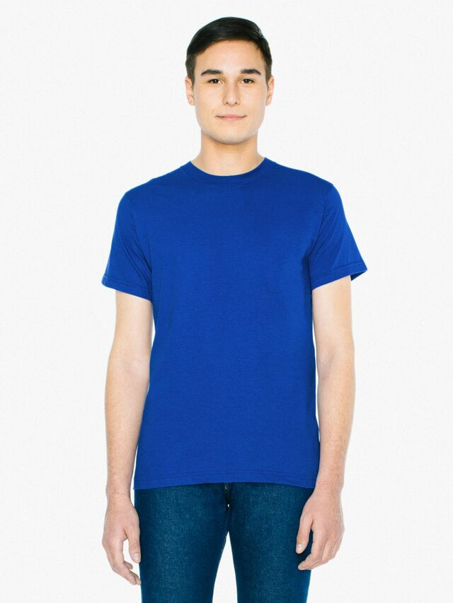 Fine Jersey Crewneck T-Shirt (Royal Blue)