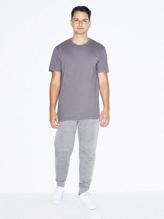 Fine Jersey Crewneck T-Shirt (Slate)