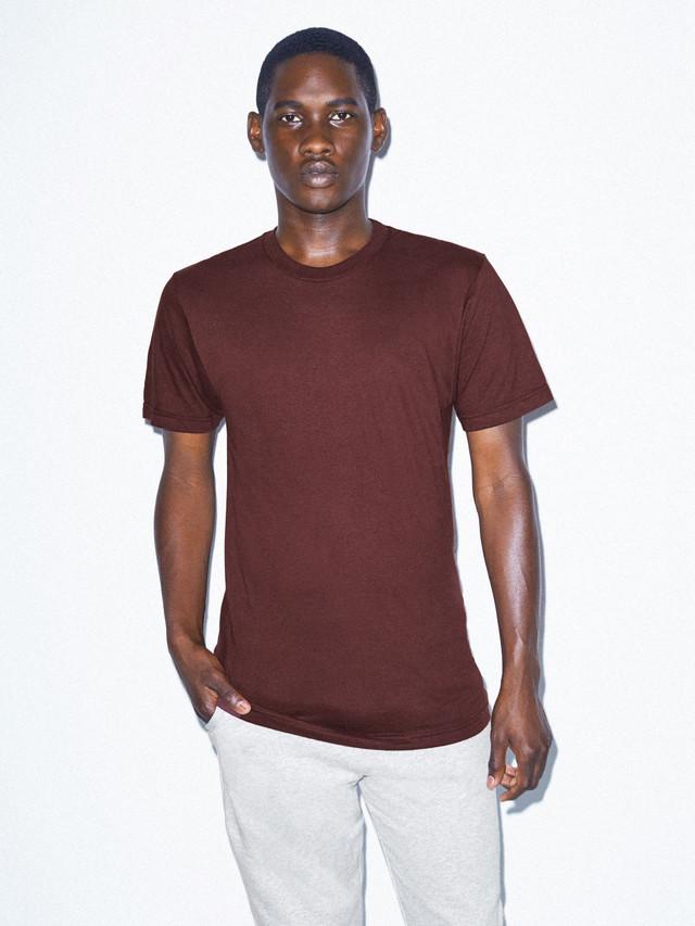 Fine Jersey Crewneck T-Shirt (Truffle)