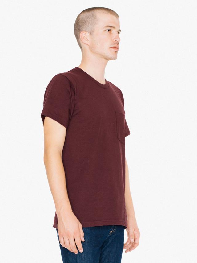 Fine Jersey Crewneck Pocket T-Shirt (Truffle)