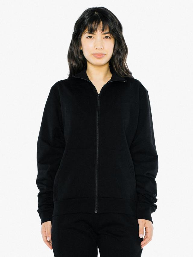 Unisex California Fleece Track Jacket (Black)