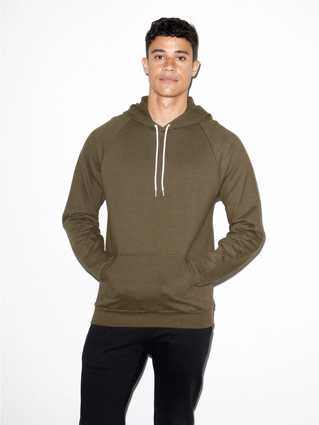 California Fleece Pullover Hoodie (Army)