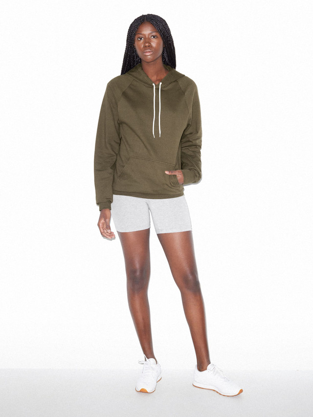 Unisex California Fleece Pullover Hoodie (Army)