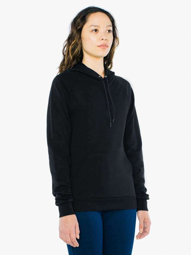 Unisex California Fleece Pullover Hoodie (Black)