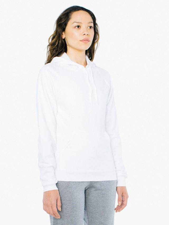 Unisex California Fleece Pullover Hoodie (White)