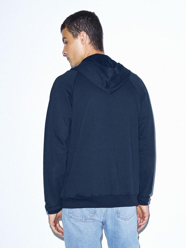 California Fleece Zip Hoodie (Navy)