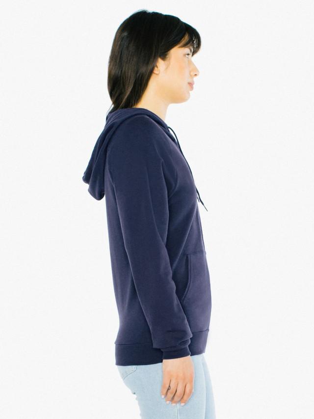 Unisex California Fleece Zip Hoodie (Navy)