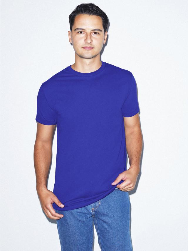 50/50 Crewneck T-Shirt (Lapis)