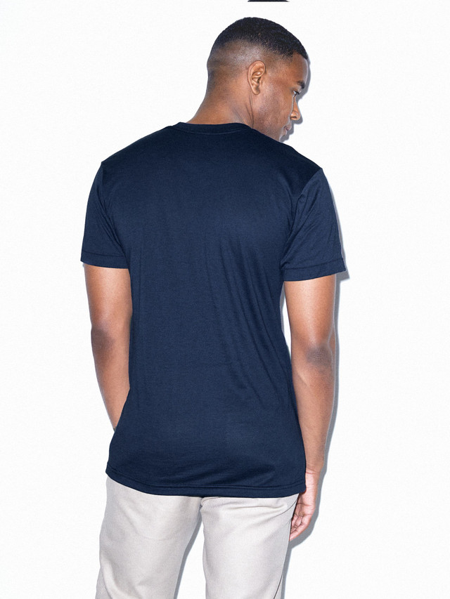 50/50 Crewneck T-Shirt (Navy)