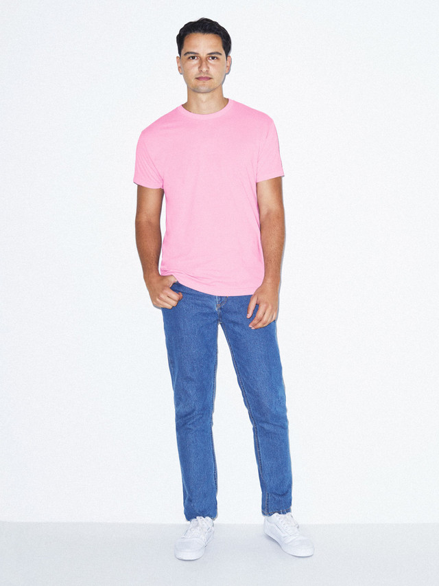 50/50 Crewneck T-Shirt (Pink)