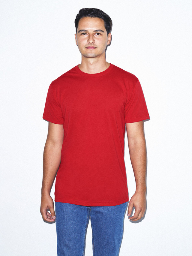 50/50 Crewneck T-Shirt (Red)