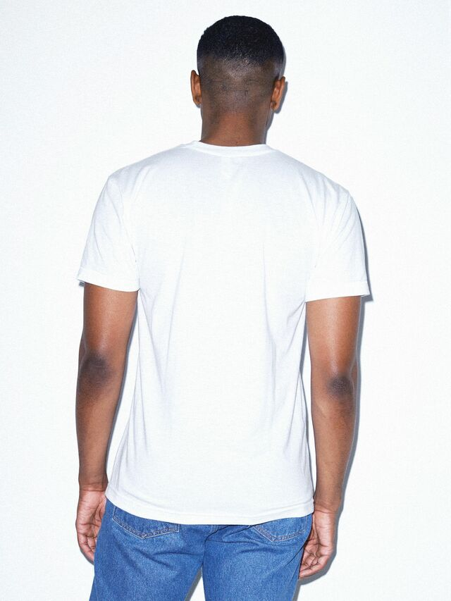 50/50 Crewneck T-Shirt (White)