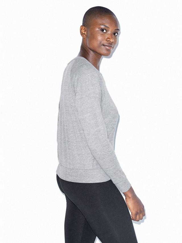 Tri-Blend Lightweight Pullover (Athletic Grey)
