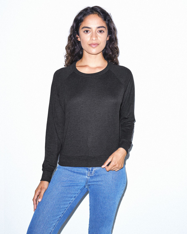Tri-Blend Lightweight Pullover (Tri-Black)
