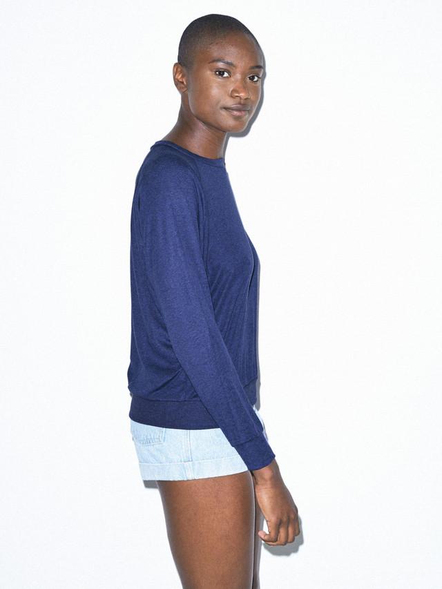 Tri-Blend Lightweight Pullover (Tri-Indigo)