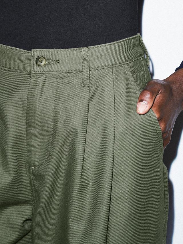 Twill Pleated Pant (Lieutenant)