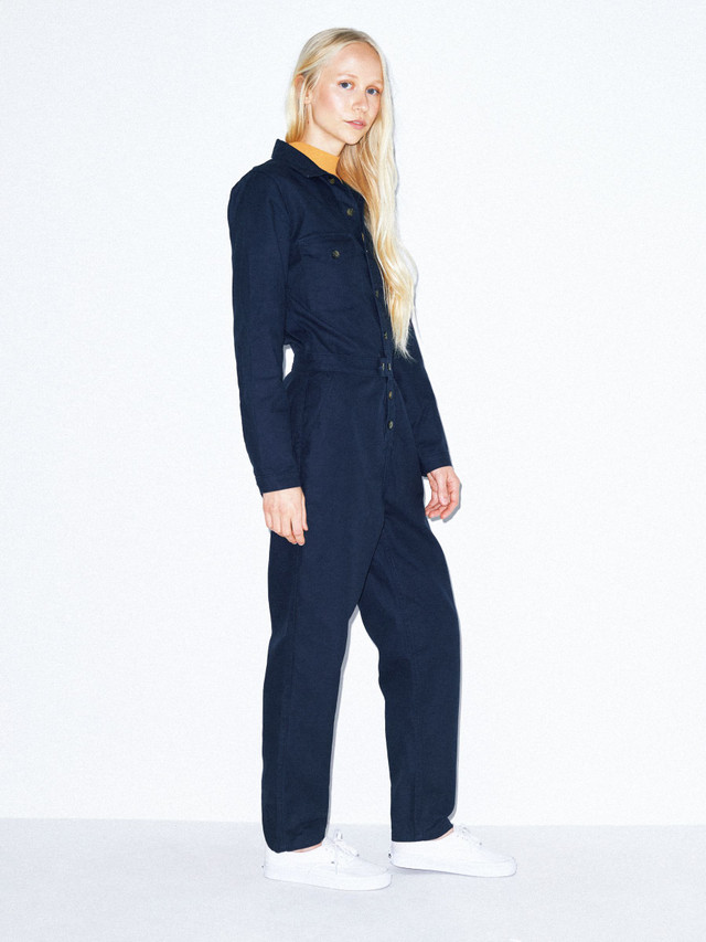 Twill Coverall (Navy)
