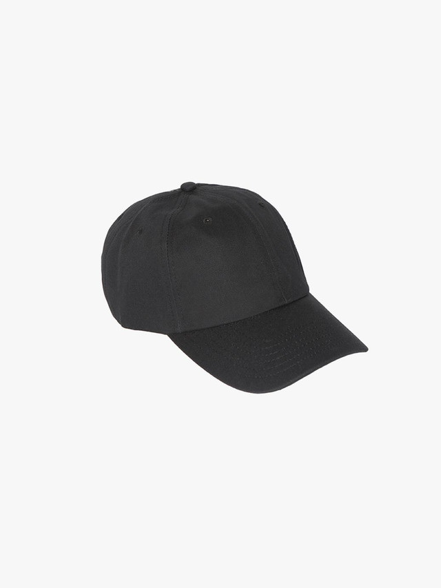 Cotton Twill Baseball Hat (Black)