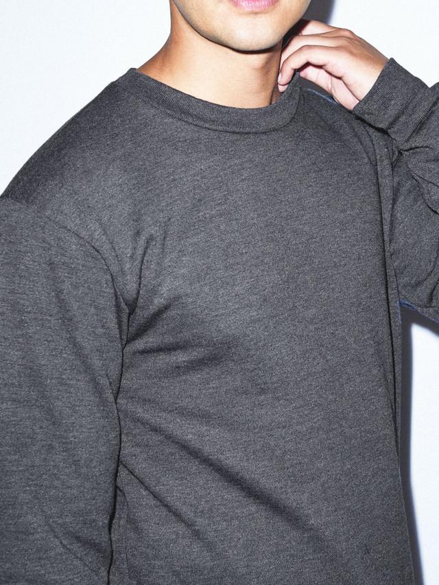 Flex Fleece Pullover (Dark Heather Grey)