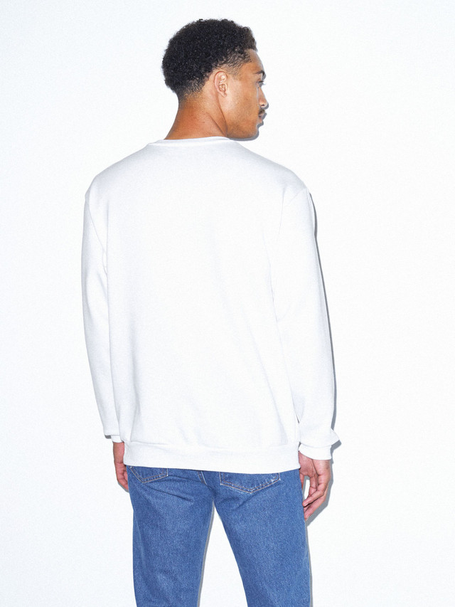Flex Fleece Pullover (White)