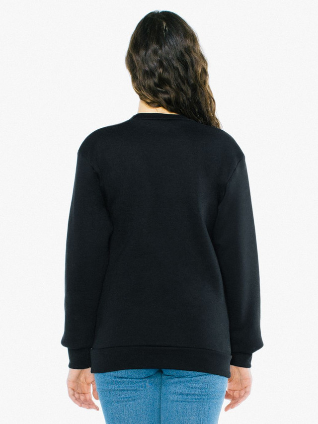 Unisex Flex Fleece Pullover (Black)