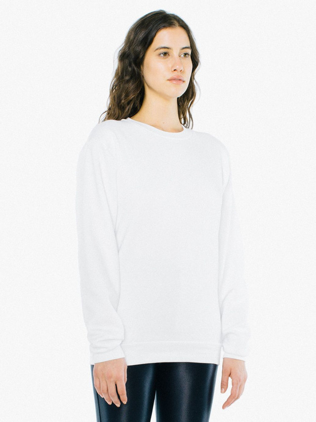 Unisex Flex Fleece Pullover (White)