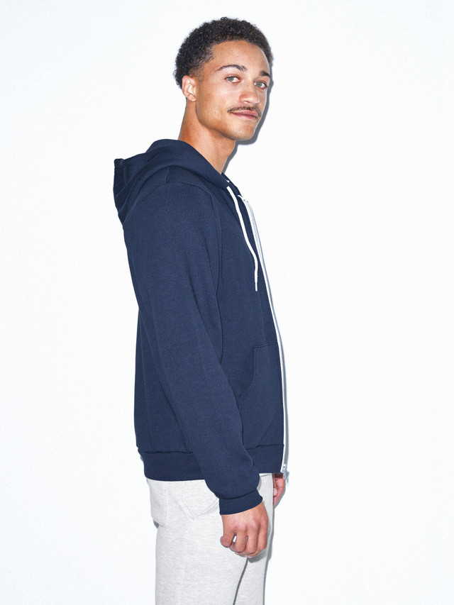 Flex Fleece Zip Hoodie (Navy)