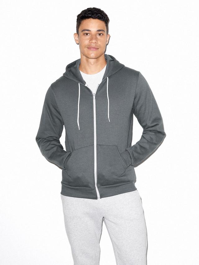 Flex Fleece Zip Hoodie (Asphalt)
