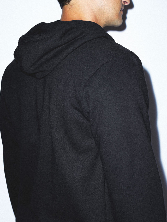 Flex Fleece Zip Hoodie (Black)