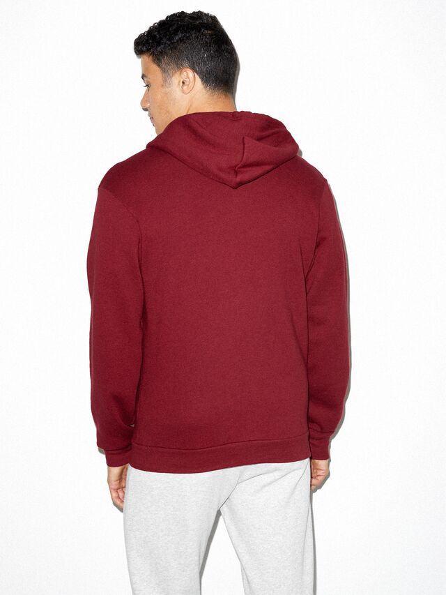 Flex Fleece Zip Hoodie (Cranberry)