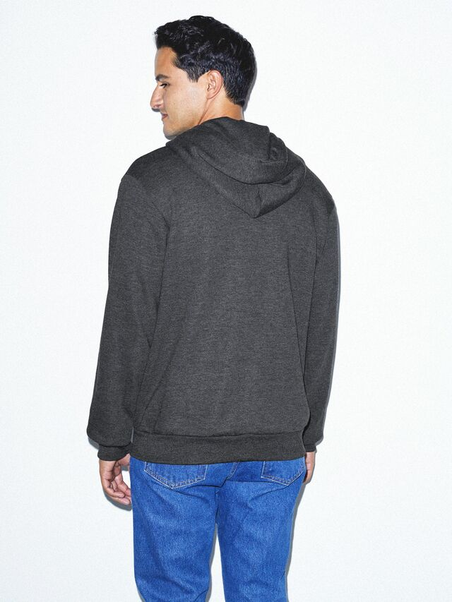 Flex Fleece Zip Hoodie (Dark Heather Grey)