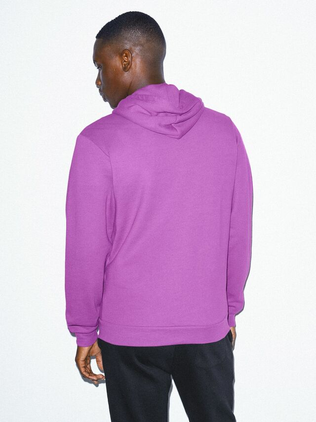 Flex Fleece Zip Hoodie (Dark Orchid)