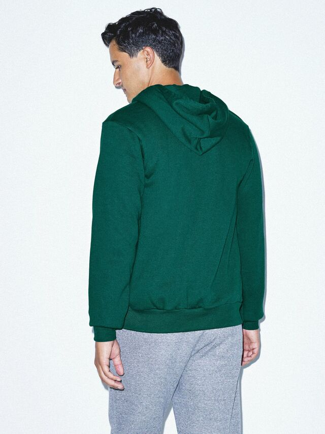 Flex Fleece Zip Hoodie (Forest)