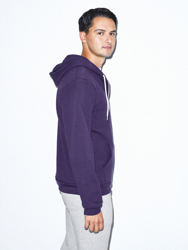 Flex Fleece Zip Hoodie (Imperial Purple)