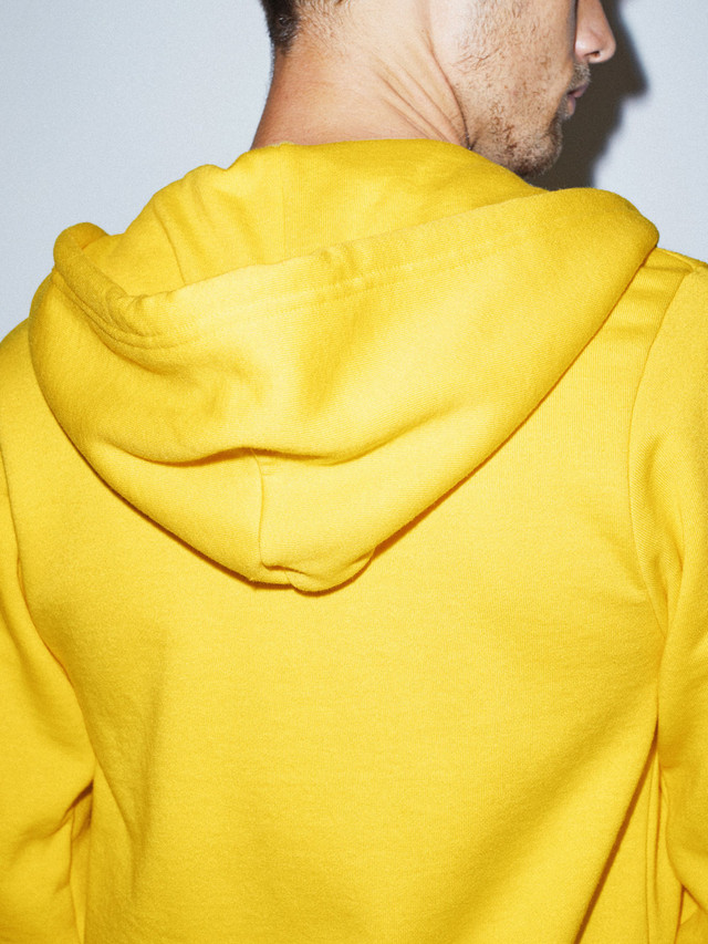 Flex Fleece Zip Hoodie (Sunshine)