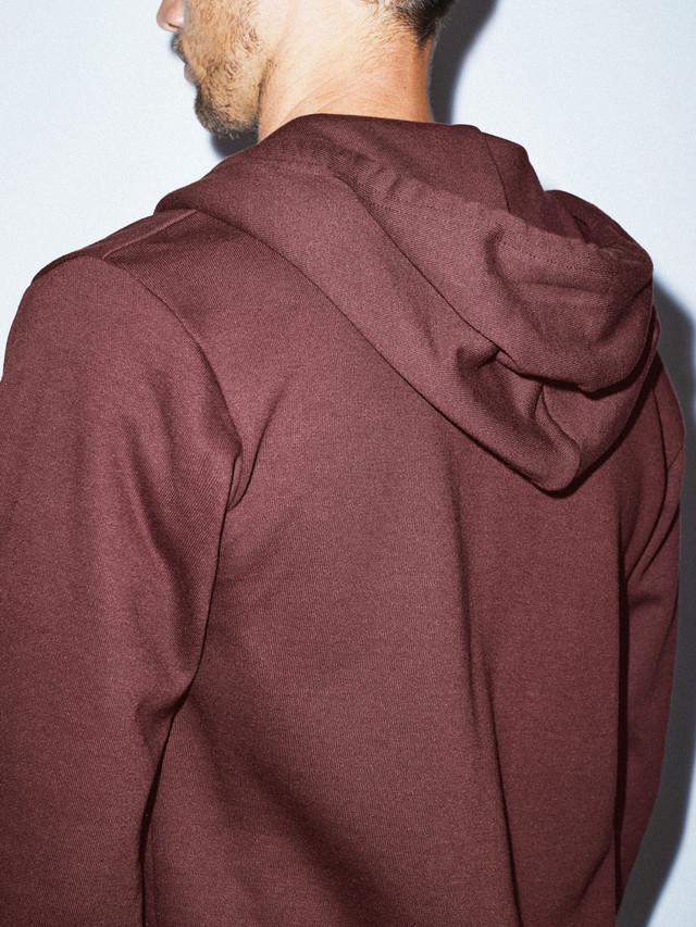 Flex Fleece Zip Hoodie (Truffle)