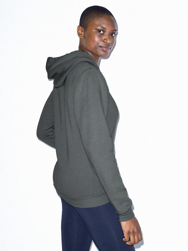 Unisex Flex Fleece Zip Hoodie  (Asphalt)