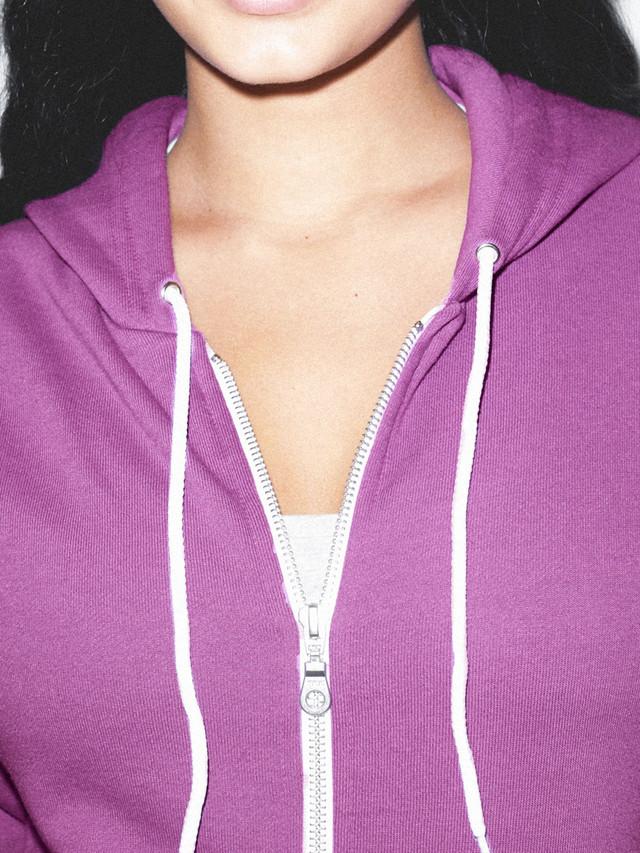 Unisex Flex Fleece Zip Hoodie  (Dark Orchid)
