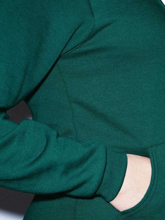 Unisex Flex Fleece Zip Hoodie  (Forest)