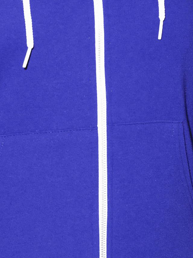 Unisex Flex Fleece Zip Hoodie  (Lapis)