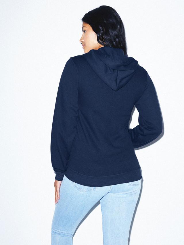 Unisex Flex Fleece Zip Hoodie  (Navy)