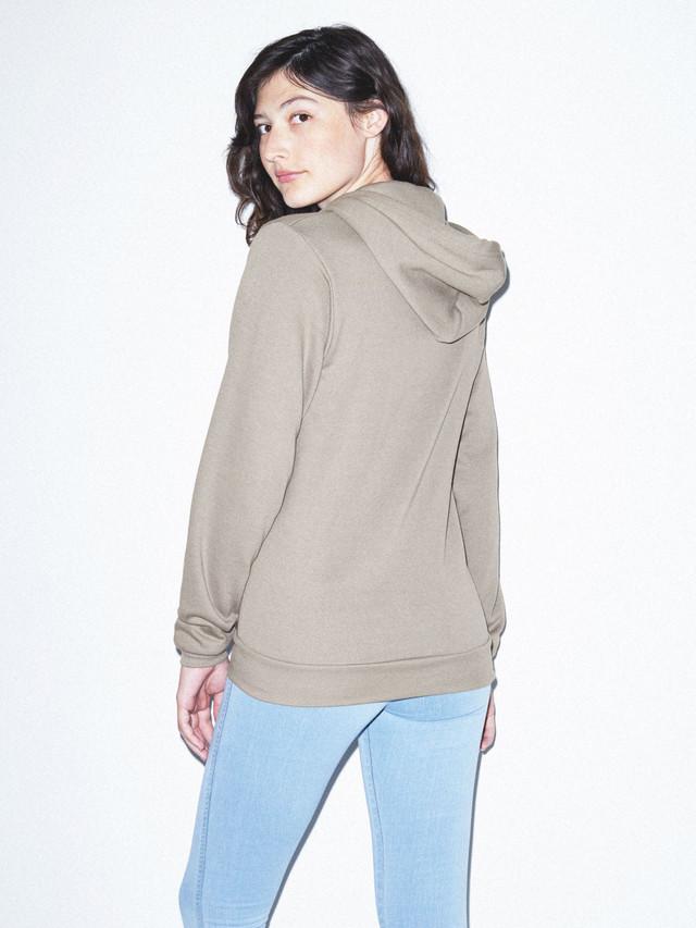 Unisex Flex Fleece Zip Hoodie  (Pewter)