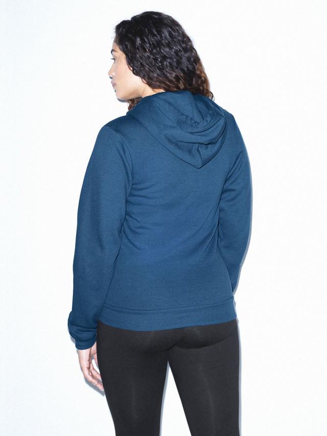 Unisex Flex Fleece Zip Hoodie  (Sea Blue)