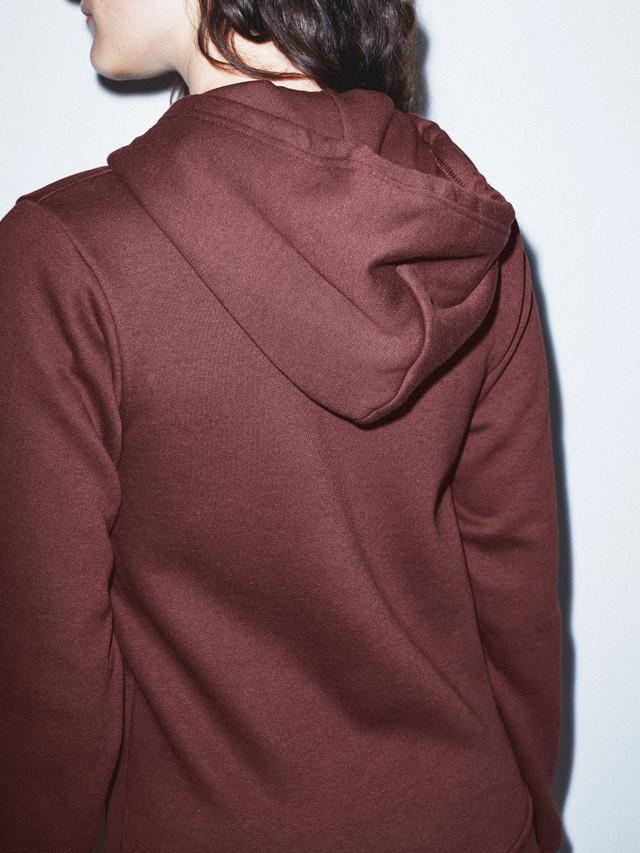 Unisex Flex Fleece Zip Hoodie  (Truffle)