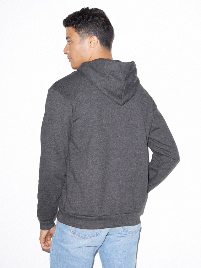 Flex Fleece Pullover Hoodie (Dark Heather Grey)